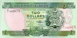 SOLOMON ISLAND 2 DOLLARS 1997 PICK 18 UNC - Solomon Islands