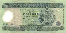 SOLOMON ISLANDS 2 DOLLARS 2001 PICK 23 POLYMER UNC - Salomons