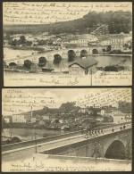 SAINT MIHIEL 2 CPA Du Pont Et Côte De Bar (Périchon) Meuse (55) - Saint Mihiel