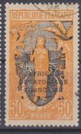 Moyen-Congo Mittelkongo 1925 Used O, Mi 51 2013-0244 - Französisch-Kongo (1891-1960)