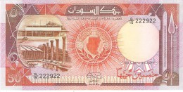 SUDAN 50 POUNDS 1985 PICK 36 UNC RARE - Soedan