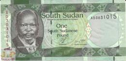 SOUTH SUDAN 1 POUND 2011 PICK 5 UNC - Sudan