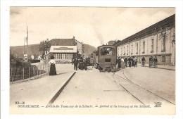 GERARDMER - VOSGES - ARRIVEE DU TRAMWAY DE LA SCHLUCHT - TRAIN - GARE - Gerardmer