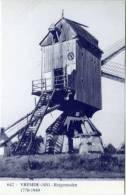 VREMDE Bij Boechout (Antw.) - Molen/moulin - Blauwe Prentkaart Ons Molenheem Van De Verdwenen Reigermolen - Boechout