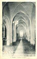 N°42571 -cpa Ruffec Tintérieur De L'église- - Ruffec