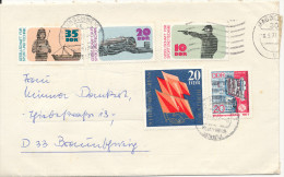 Germany DDR cover sent to Germany 18-5-1977