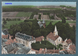 78 - EN AVION AU-DESSUS DE ... FOURQUEUX-L'église -  Non écrite - 2 Scans -10.5 X 15 - LAPIE - Otros Municipios