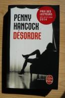 Penny Hancock - Désordre - Thriller - Livre De Poche - Sonatine - 2014 - Books, Magazines, Comics