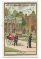 Indochine Annam Exposition Universelle 1889 Bien  Dos Vierge - Chromos