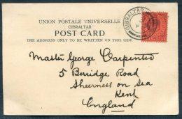 1903 Gibraltar Church Street Postcard - Sheerness, Kent, England - Gibraltar