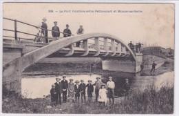 Le Pont Frontière Entre Pettoncourt Et Moncel Sur Selle - Sin Clasificación
