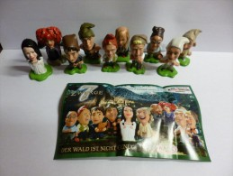 Kinder Surprise Serie Complete 7 Nains / 7 Zwerge 1 + Bpz - Montables