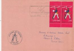 FRANCE TOULON JOURNEE DU TIMBRE 6/3/1993      TDA43