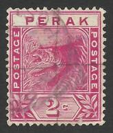 Malaya, Perak, 2 C. 1892, Sc # 43, Mi # 15, Used - Perak