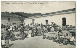 Departamento De Alfareria En La Plaza De San Cristobal Marché De Quincaillerie  Editor Hurter Quezaltenango - Guatemala