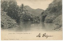 Indian River , Portsmouth Dominica W. I. Edit José Anjo Antigua Leeward To Gendarmerie Gustavia St Barthelemy Guadeloupe - Dominique