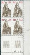 France -1981 - Coin Daté 8/5/81 -1 F.40 Carmin Et Brun - Saint-Jean De Lyon -Y&T N°2132 ** Neuf Luxe 1er Choix - 1980-1989