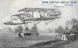 TRANSPORT - AVIATION - AVIATEUR - L'Aéroplane Blériot. (n°3437). - Aviateurs