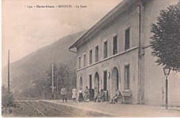 I39. Haute-Alsace. - MOOSCH - La Gare CPA Non écrite - Otros Municipios