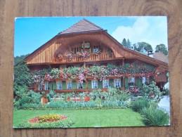 42150 POSTCARD: SWITZERLAND: BE-BERNE: Schweiz - Emmentaler Bauernhaus / Farm-house Of Emmental. - BE Bern