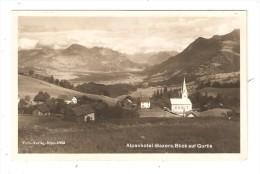 CPA : Autriche - Alpenhotel Bazora Blick Auf Gurtis - Vue Du Village Et Eglise - Autriche