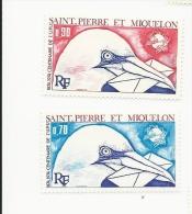 St Pierre And Miquelon 1974  Centenary UPU MNH - St.Pierre & Miquelon