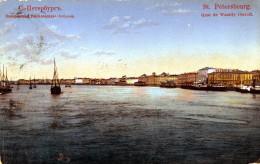 St. Petersbourg. Quai De Wassily Ostroff - Russia