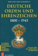 Katalog Deutsche Orden Ehrenzeichen 1800-1945 Nimmergut 2014 Neu 40€ Germany AD Baden Bayern Danzig Saar Sachsen 3.Reich - Loisirs Créatifs