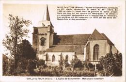 12020. Postal SUILLY La TOUR (Nievre).  Eglise De St. Symphorien - Francia