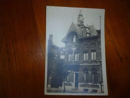 CB102-100-3 LC111 Carte Photo  Belle Villa  Très Probablement à Couillet - Loverval - Photos