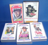 M#0C19 COLLEZIONE VHS SERGIO LEONE VIDEO RICORDI-C�ERA UNA VOLTA IL WEST/CLINT EASTWOOD