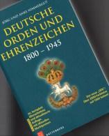Cataloge Deutsche Orden Ehrenzeichen 1800-1945 Battenberg 2014 New 40€ Germany Baden Bayern Danzig Saar Sachsen 3.Reich - Pins