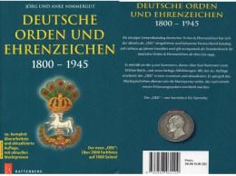Deutsche Orden Ehrenzeichen 1800-1945 Battenberg Katalog 2014 New 40€ Germany Baden Bayern Danzig Saar Sachsen III.Reich - Old Paper