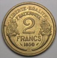 2F Morlon 1939, Bronze-aluminium - III° République (1870 - 1940) - I. 2 Francs
