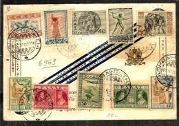 1935 GRECIA     Storia Postale Lettera - Grecia
