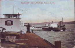 ROMANIA  -  OLTENITA -  Edit M. Grigoriu Const. - PORT - 1925 - Roumanie