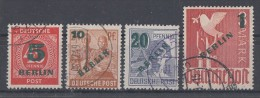 Berlin Minr.64-67 Gestempelt - Gebraucht
