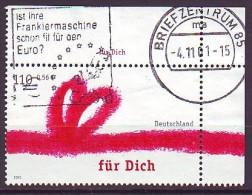BRD - 2001 - MiNr. 2223 - Eckrand - Gestempelt - Gebruikt