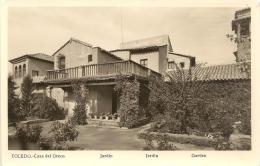 TOLEDO - Casa Del Greco  - Jardin (foto) - Peñón De Vélez De La Gomera
