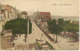 VIGO  - Paseo Alfonso XII - Tramway - Peñón De Vélez De La Gomera