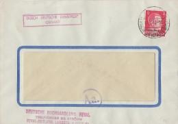 Ostland Brief Durch Dt. Dienstpost Ostland EF Minr.8 Reval 7.12.42 - Besetzungen 1938-45