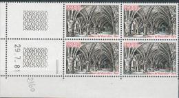 France -1981 - Coin Daté 29/7/81 -2 F.noir Et Rouge - Abbaye De Vaucelles (Nord) -Y&T N°2160 ** Neuf Luxe 1er Choix - 1980-1989