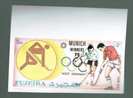 FUJEIRA  IMPERFECT   OLYMPIC GAMES 1972  MUNICH BARCELONA HOCKEY FIELD - Summer 1972: Munich