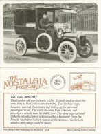 Postcard London Unic W&G Taxi Cab Nostalgia Hulton Photo 1909-1912 Taxicab Repro - Taxi & Carrozzelle