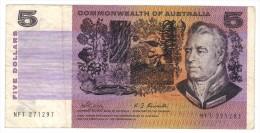 Australia 5 Dollars ,Commonwealth ,  USED,  FREE SHIPP. TO USA. - Unclassified