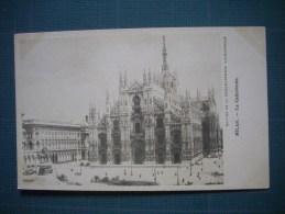 Cpa   MILANO  -  MILAN  - La Cathédrale  -   Lombardia  -  Italia  - Chocolaterie D´Aiguebelle - Milano