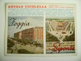 GRAND  HOTEL  CICOLELLA    FOGGIA  SIPONTO   PUGLIA NON  VIAGGIATA  COME DA FOTO immagine OPACA