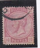 Belgique  Leopold II  10c Rose - 1883 Leopold II