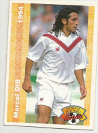 Carte Panini 1994 Bordeaux  N° 123 Marcel Dib - Trading Cards