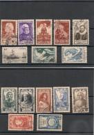FRANCE  1946 N° Y&T : 748/749-751/754-761/762-765/771 Oblitérés Côte: 17,00 € - Gebraucht